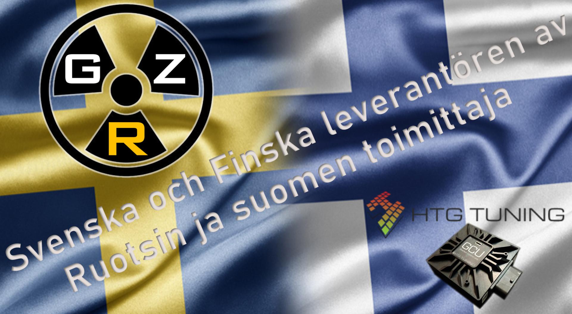 GZ Racing utökar sitt distributionsnätverk till Finland.