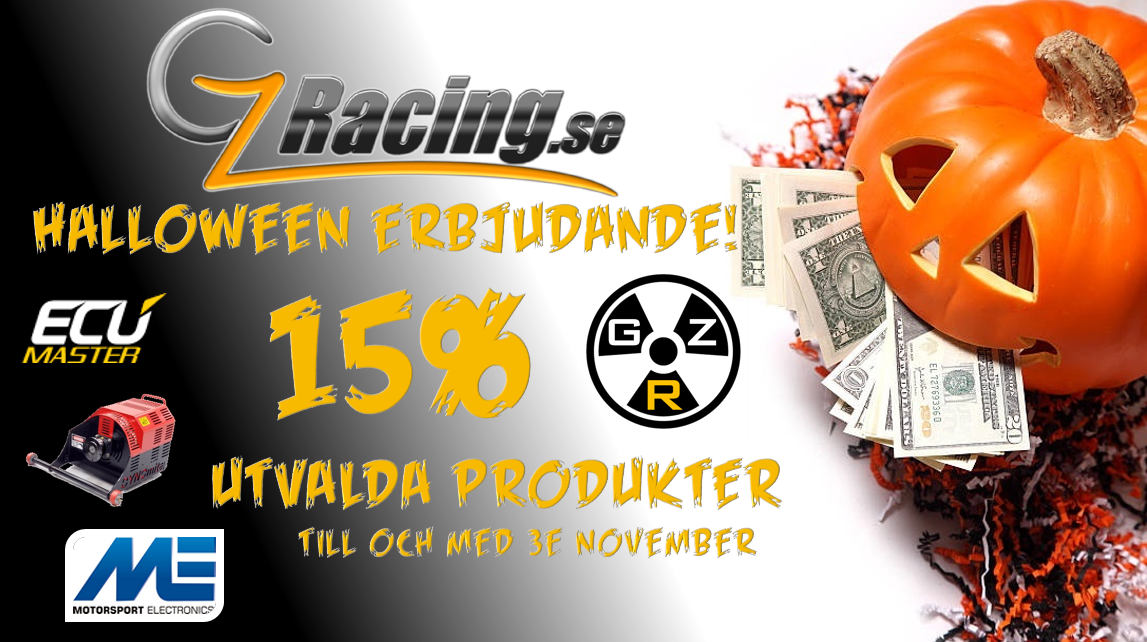 GZ Racing AB - Halloweenkampanj